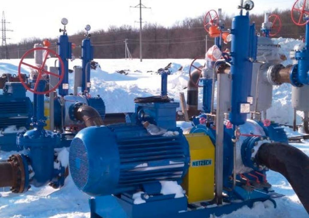 Netzsch API-676 Multiscrew Multiphase Pumps