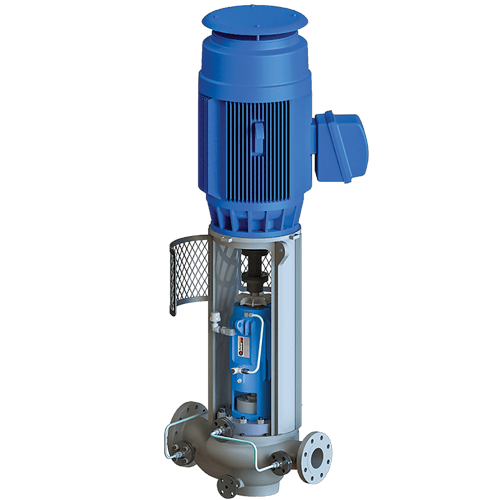 OH4 Vertical Process Pump